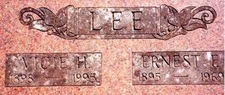 LEE, ERNEST FREEMAN - Lane County, Oregon | ERNEST FREEMAN LEE - Oregon Gravestone Photos