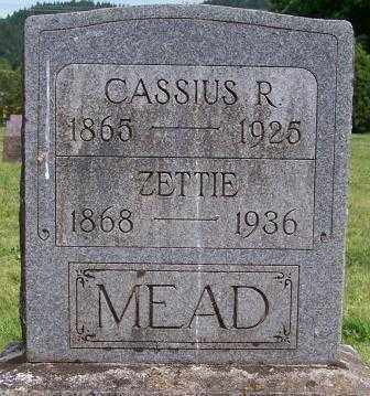 MEAD, CASSIUS RANDALL - Lane County, Oregon | CASSIUS RANDALL MEAD - Oregon Gravestone Photos
