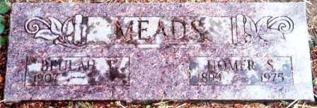 MEADS, BEULAH BONNETTA - Lane County, Oregon | BEULAH BONNETTA MEADS - Oregon Gravestone Photos