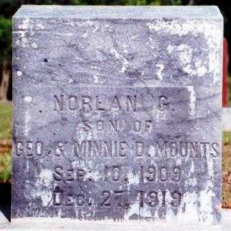 MOUNTS, NORLAN G. - Lane County, Oregon   NORLAN G. MOUNTS - Oregon Gravestone Photos