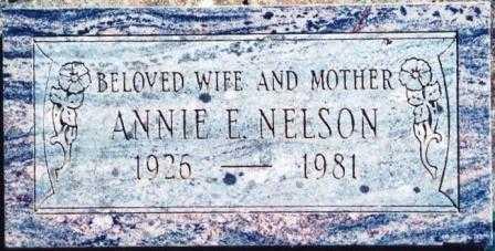 WISCARSON NELSON, ANNIE ELIZABETH - Lane County, Oregon | ANNIE ELIZABETH WISCARSON NELSON - Oregon Gravestone Photos