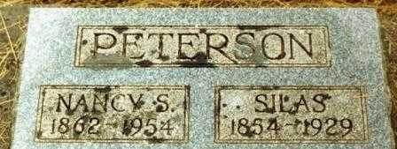 PETERSON, SILAS - Lane County, Oregon | SILAS PETERSON - Oregon Gravestone Photos