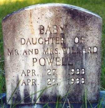 POWELL, DAUGHTER - Lane County, Oregon | DAUGHTER POWELL - Oregon Gravestone Photos
