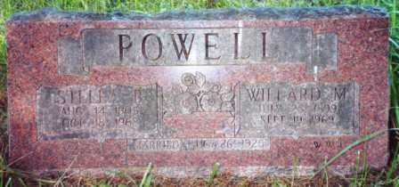 POWELL, WILLARD M - Lane County, Oregon | WILLARD M POWELL - Oregon Gravestone Photos