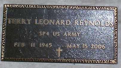 REYNOLDS, TERRY LEONARD - Lane County, Oregon | TERRY LEONARD REYNOLDS - Oregon Gravestone Photos