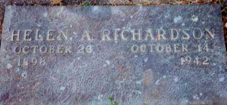 MILLIORN RICHARDSON, HELEN AILEEN - Lane County, Oregon | HELEN AILEEN MILLIORN RICHARDSON - Oregon Gravestone Photos
