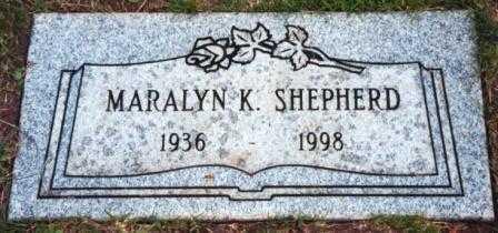 CLARK SHEPHERD, MARALYN KAY - Lane County, Oregon | MARALYN KAY CLARK SHEPHERD - Oregon Gravestone Photos