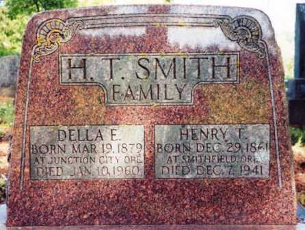 SMITH, DELLA E - Lane County, Oregon | DELLA E SMITH - Oregon Gravestone Photos