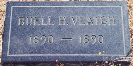 VEATCH, BUELL HARVEY - Lane County, Oregon | BUELL HARVEY VEATCH - Oregon Gravestone Photos