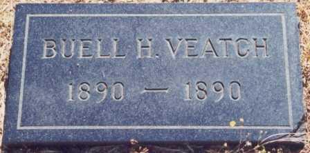 VEATCH, BUELL HARVEY - Lane County, Oregon | BUELL HARVEY VEATCH - Oregon Gravestone Photos