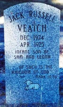 VEATCH, JACK RUSSELL - Lane County, Oregon | JACK RUSSELL VEATCH - Oregon Gravestone Photos