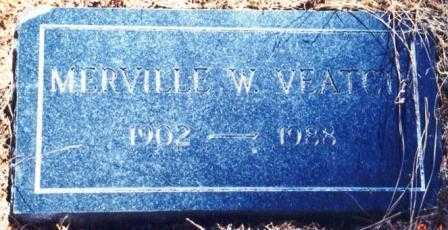 VEATCH, MERVILLE WYNNE - Lane County, Oregon | MERVILLE WYNNE VEATCH - Oregon Gravestone Photos