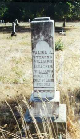 WILLIAMS, VELINA ASENATH - Lane County, Oregon | VELINA ASENATH WILLIAMS - Oregon Gravestone Photos