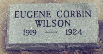 WILSON, EUGENE CORBIN - Lane County, Oregon | EUGENE CORBIN WILSON - Oregon Gravestone Photos