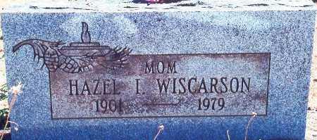 VIOLETTE WISCARSON, HAZEL IRENE - Lane County, Oregon | HAZEL IRENE VIOLETTE WISCARSON - Oregon Gravestone Photos