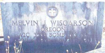 WISCARSON (KOR), MELVIN JAMES - Lane County, Oregon | MELVIN JAMES WISCARSON (KOR) - Oregon Gravestone Photos