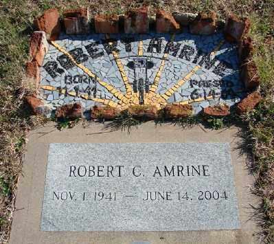 AMRINE, ROBERT C - Lincoln County, Oregon | ROBERT C AMRINE - Oregon Gravestone Photos