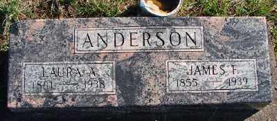 ANDERSON, LAURA A - Lincoln County, Oregon | LAURA A ANDERSON - Oregon Gravestone Photos