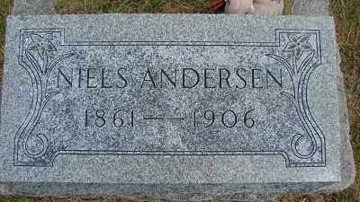 ANDERSON, NIELS PETER - Lincoln County, Oregon | NIELS PETER ANDERSON - Oregon Gravestone Photos
