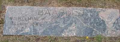 BAARDSEN, IVER ANDRES - Lincoln County, Oregon | IVER ANDRES BAARDSEN - Oregon Gravestone Photos