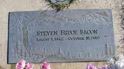 BACON, STEVEN BRUCE - Lincoln County, Oregon   STEVEN BRUCE BACON - Oregon Gravestone Photos