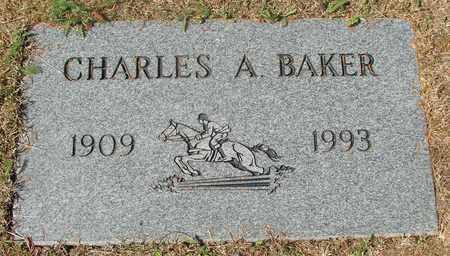 BAKER, CHARLES ALDEN - Lincoln County, Oregon   CHARLES ALDEN BAKER - Oregon Gravestone Photos