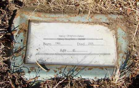 BAKER, NANCY JANE - Lincoln County, Oregon | NANCY JANE BAKER - Oregon Gravestone Photos