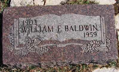 BALDWIN, WILLIAM F - Lincoln County, Oregon | WILLIAM F BALDWIN - Oregon Gravestone Photos
