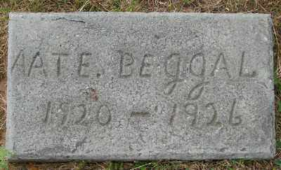 BEGGAL, AATE - Lincoln County, Oregon | AATE BEGGAL - Oregon Gravestone Photos