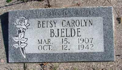 BJELDE, BETSY CAROLYN - Lincoln County, Oregon   BETSY CAROLYN BJELDE - Oregon Gravestone Photos