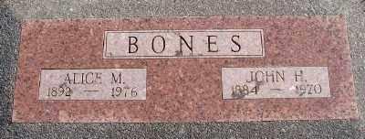 BONES, JOHN H - Lincoln County, Oregon   JOHN H BONES - Oregon Gravestone Photos