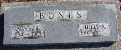 BONES, AMMON NEAL - Lincoln County, Oregon | AMMON NEAL BONES - Oregon Gravestone Photos