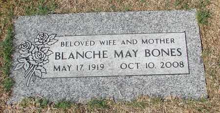 BONES, BLANCHE MAY - Lincoln County, Oregon   BLANCHE MAY BONES - Oregon Gravestone Photos