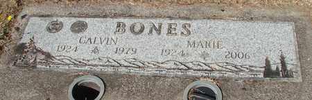 BONES, CALVIN - Lincoln County, Oregon | CALVIN BONES - Oregon Gravestone Photos