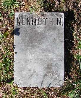 BONES, KENNETH N - Lincoln County, Oregon | KENNETH N BONES - Oregon Gravestone Photos