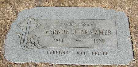 BRAMMER, VERNON JACKSON - Lincoln County, Oregon | VERNON JACKSON BRAMMER - Oregon Gravestone Photos