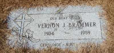 BRAMMER, VERNON J - Lincoln County, Oregon | VERNON J BRAMMER - Oregon Gravestone Photos