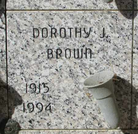 BROWN, DOROTHY JANE - Lincoln County, Oregon | DOROTHY JANE BROWN - Oregon Gravestone Photos