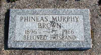 BROWN, PHINEUS MURPHY - Lincoln County, Oregon | PHINEUS MURPHY BROWN - Oregon Gravestone Photos