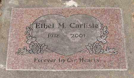 CARLISLE, ETHEL M - Lincoln County, Oregon   ETHEL M CARLISLE - Oregon Gravestone Photos