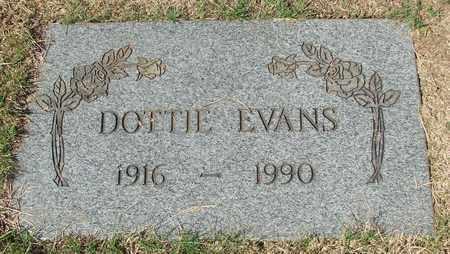 EVANS, DOTTIE LOUISE - Lincoln County, Oregon | DOTTIE LOUISE EVANS - Oregon Gravestone Photos