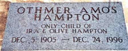 HAMPTON, OTHMER AMOS - Lincoln County, Oregon | OTHMER AMOS HAMPTON - Oregon Gravestone Photos