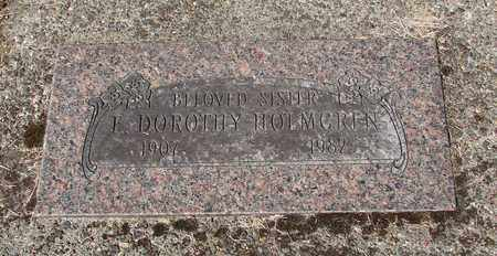 HOLMGREN, EVELYN DOROTHY - Lincoln County, Oregon   EVELYN DOROTHY HOLMGREN - Oregon Gravestone Photos