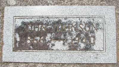 JOHNSON, JOHN - Lincoln County, Oregon | JOHN JOHNSON - Oregon Gravestone Photos