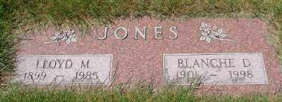 JONES, BLANCHE D - Lincoln County, Oregon | BLANCHE D JONES - Oregon Gravestone Photos