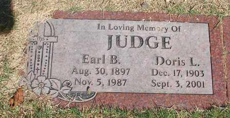 JUDGE, DORIS L - Lincoln County, Oregon | DORIS L JUDGE - Oregon Gravestone Photos