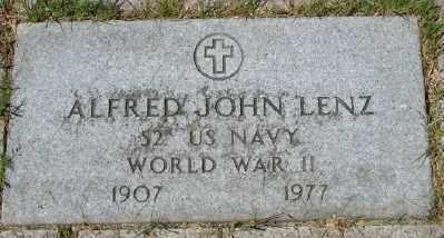 LENZ, ALFRED JOHN - Lincoln County, Oregon   ALFRED JOHN LENZ - Oregon Gravestone Photos