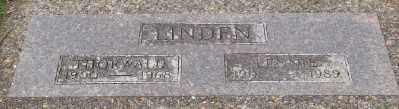 LINDEN, LENNIE - Lincoln County, Oregon | LENNIE LINDEN - Oregon Gravestone Photos