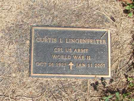 LINGENFELTER (WWII), CURTIS L - Lincoln County, Oregon | CURTIS L LINGENFELTER (WWII) - Oregon Gravestone Photos