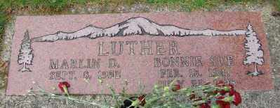LUTHER, BONNIE SUE - Lincoln County, Oregon | BONNIE SUE LUTHER - Oregon Gravestone Photos